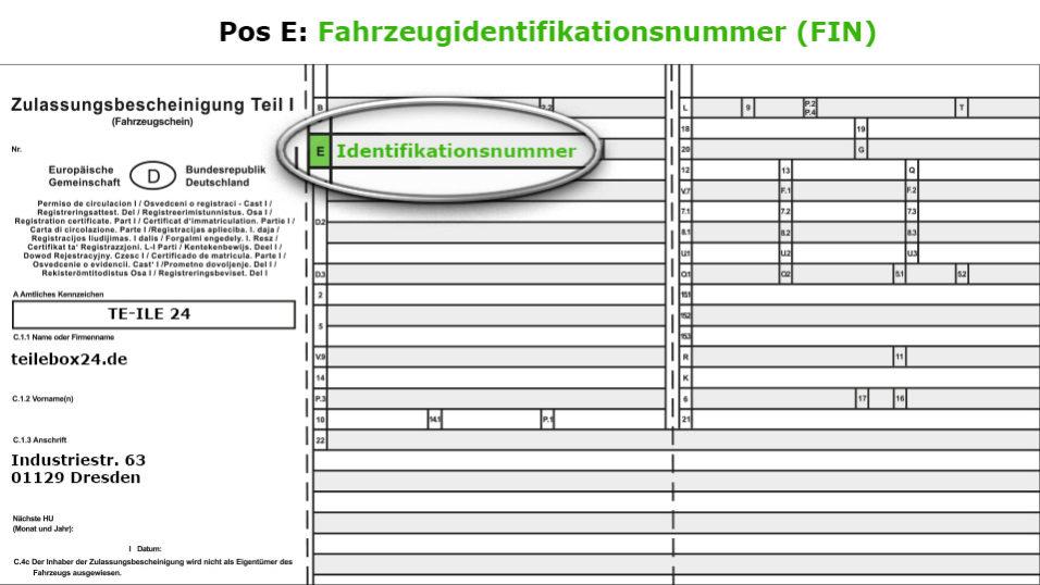 Anlage 10 Fzv Zu 16a Absatz 5 Satz 1 Fahrzeugschein